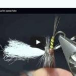 Montage d'une mouche parachute