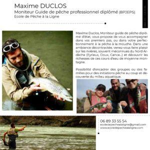 Maxime DUCLOS